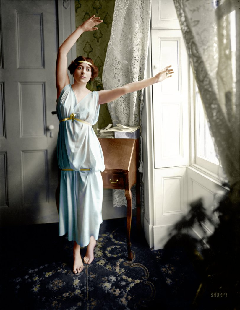 The Barefoot Baroness (Colorized): 1909