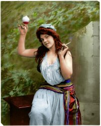 Lady Libertine (Colorized): 1902