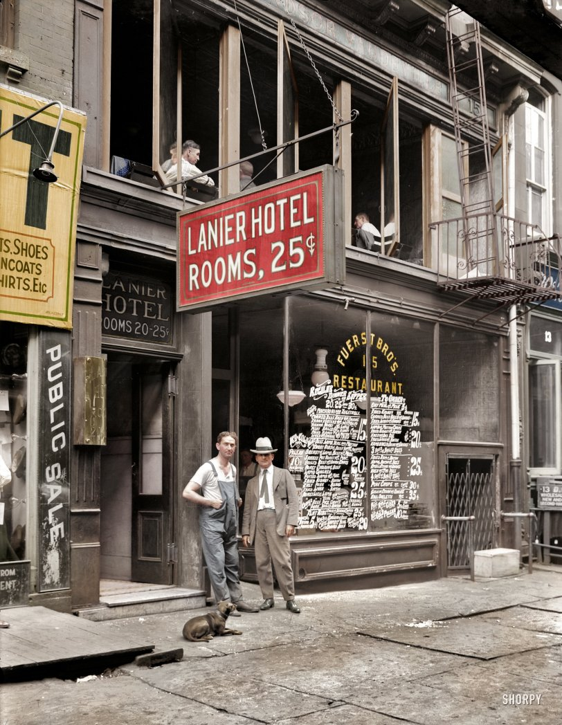 Two-Bit Hotel (Colorized): 1921
