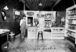 General store: circa 1910