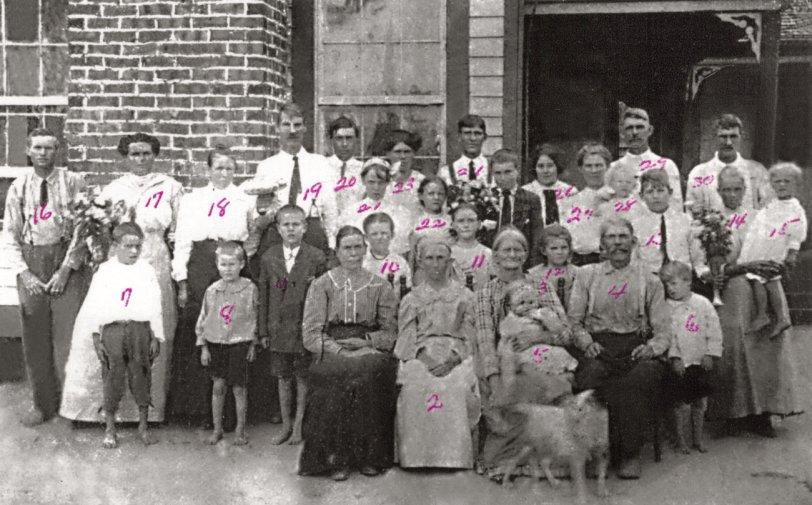 Lisenby Family c. 1912