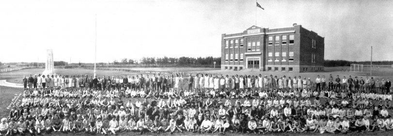 Lloydminster School: 1929