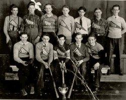 Rossland BC High School: 1935