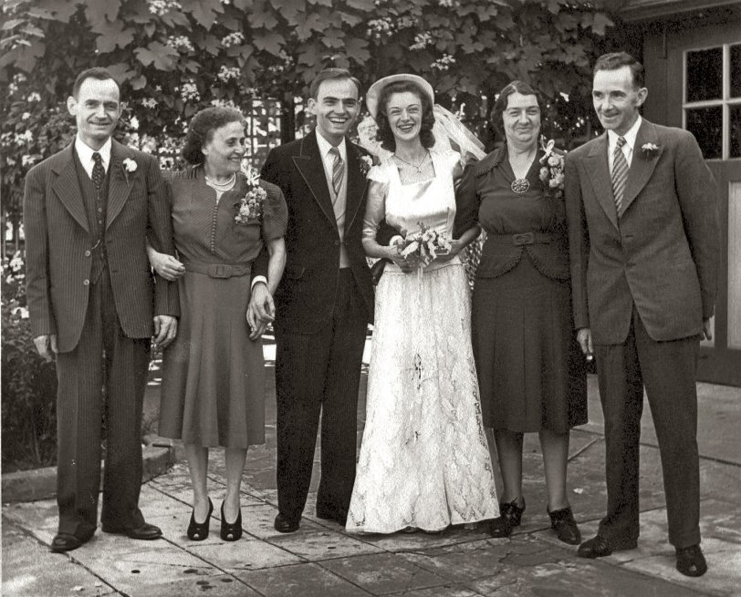 Italian-Irish Wedding, 1941