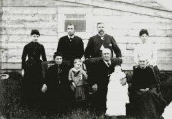 The Lucas Family: 1888