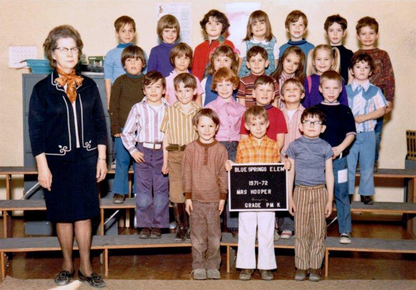 Mrs. Hooper's Kindergarten Class