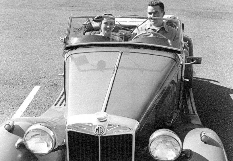 Dick and Barbara Clark: 1954