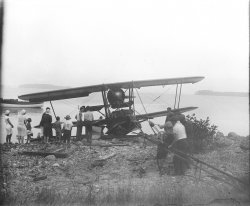 The Plane in Maine c.1933