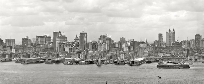 Manhattan Panorama: 1906