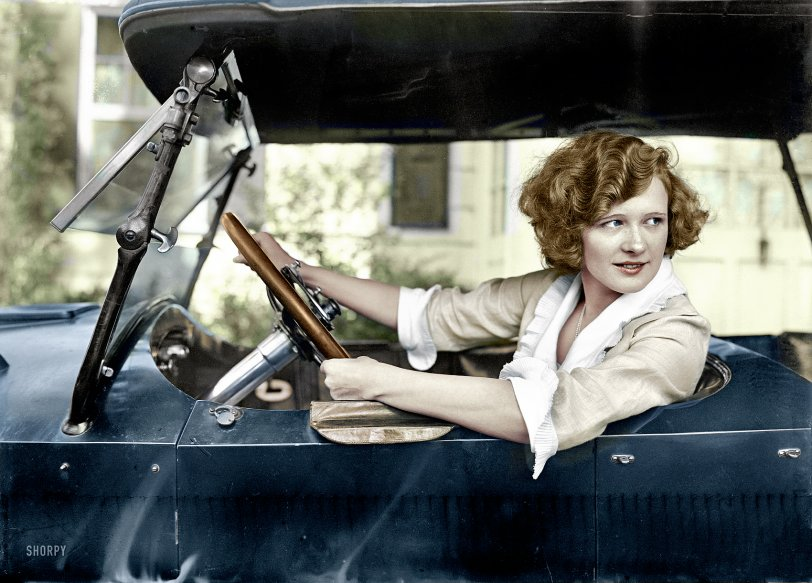 Marilyn (Colorized): 1921