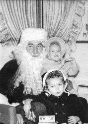 Fun with Santa: 1958