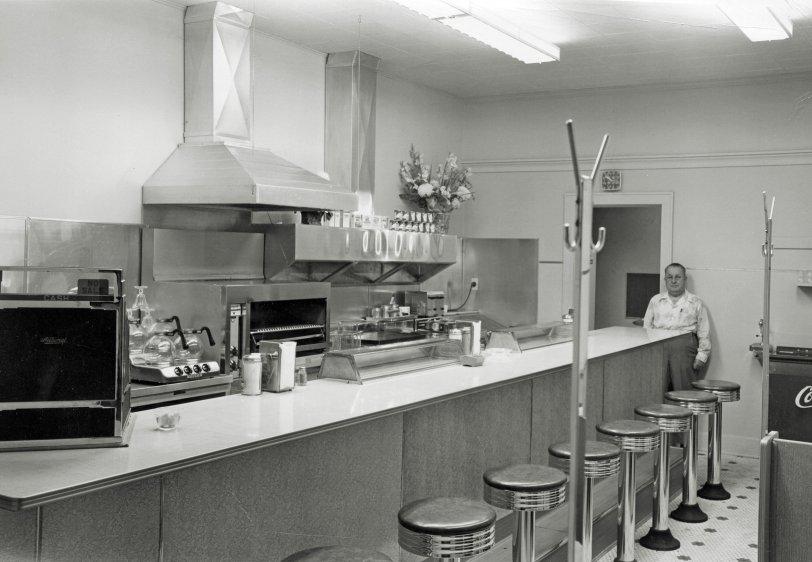 Walter's Restaurant: 1953