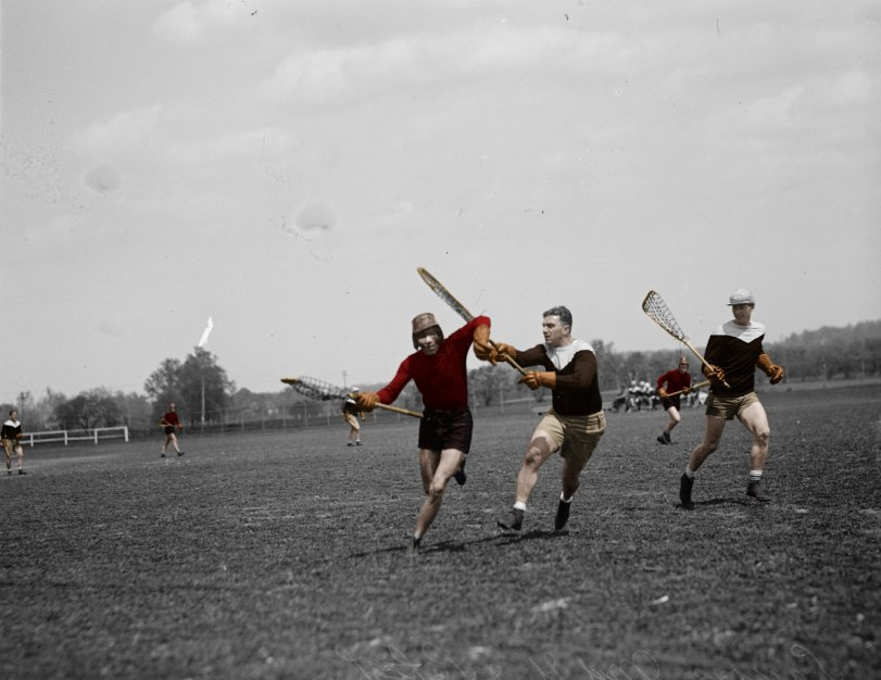 Maryland vs. Lehigh (Colorized): 1925
