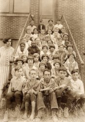 Miss Maude and Her Class: c.1926
