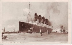 RMS Mauretania 1906