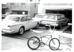 Schwinn Sting Ray: May, 1965