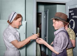Nurse's Order (Colorized): 1940