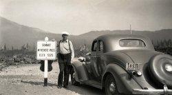 McKenzie Pass: 1939