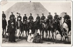 The Middlesex Yeomanry at Giza