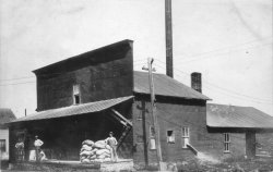 The Mill at Prairie du Sac Wisconsin 1906