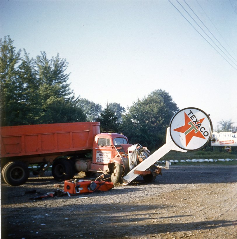 Truck vs. Texaco: 1940s