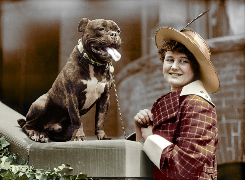 Best Friends (Colorized): 1915