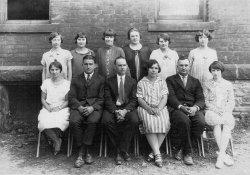 Miss Maude and Teachers: Circa 1930