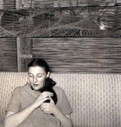 Mom and Me: c. 1956