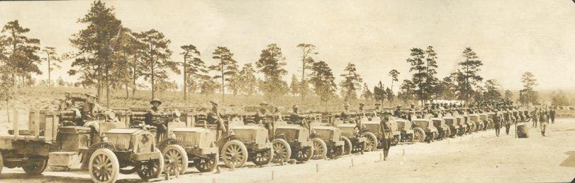 Army Trucks 1916