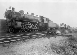 """New York Central """"Pacific"""" #3035: c.1920"""