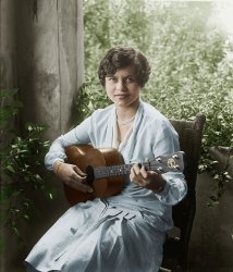 Nancy Hamilton (colorized): 1926