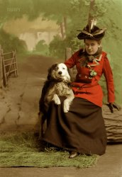 Nellie Beall (Colorized): 1892
