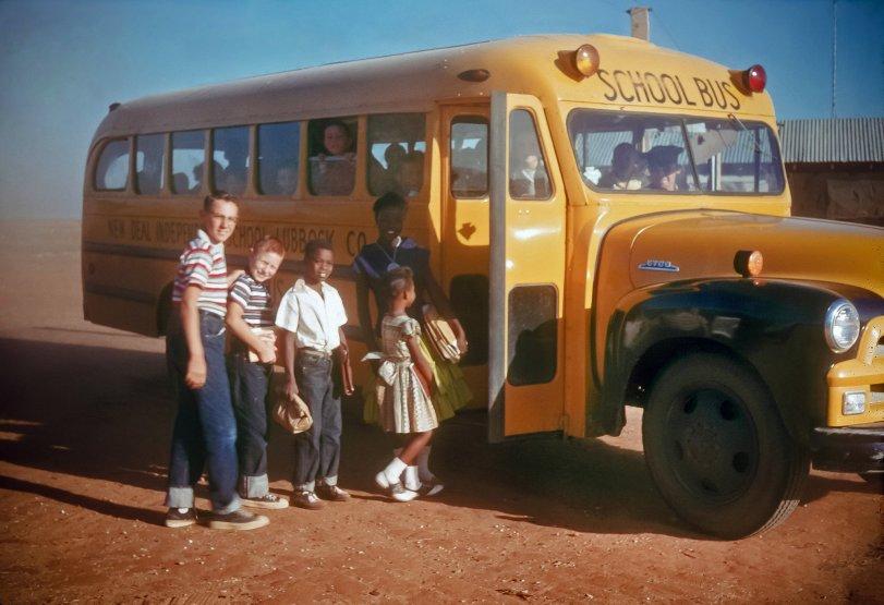 School Bus: 1957