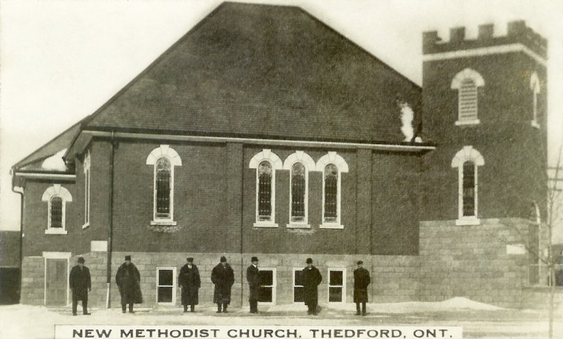 New Thedford Methodist Church