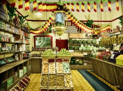 Apple Store (Colorized):1920s