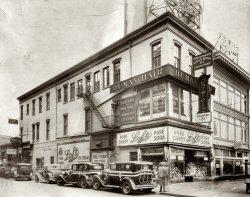 Street Corner Newark, New Jersey c. 1930