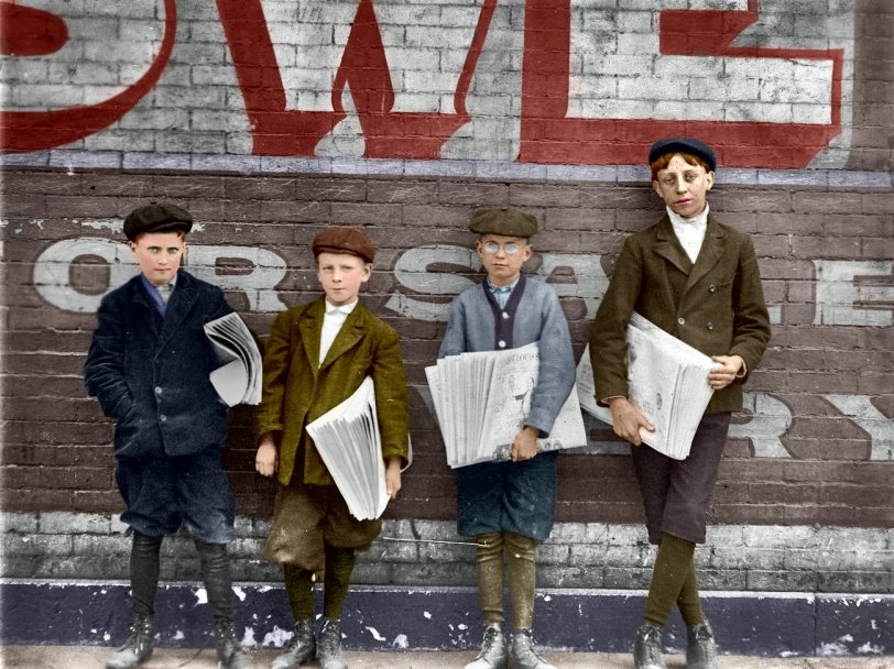 St. Louis Newsies: 1910