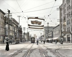 Niagara Street (Colorized): 1908