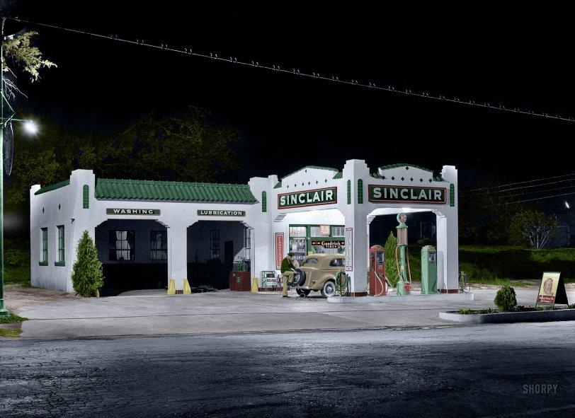 Night Service (Colorized): 1939
