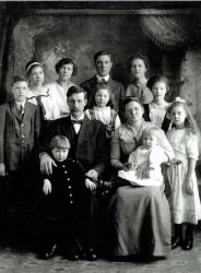 Nord family, c. 1914