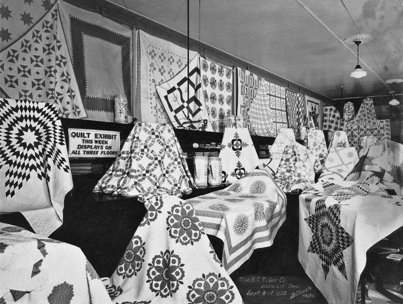 Quilt Exhibit: 1932