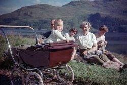 Me in a Pram: 1954