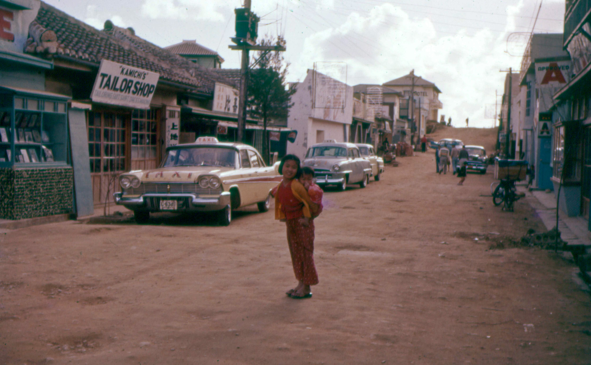 Shorpy Historic Picture Archive Okinawa 1957 High
