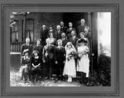 Great-Grandparents' Wedding, 1924