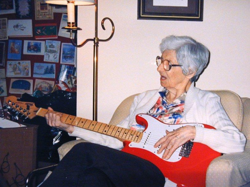 Grandma and the Strat