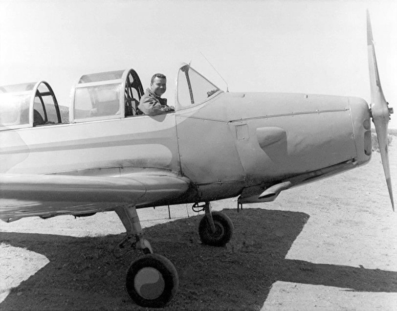 In My PT-26: 1958