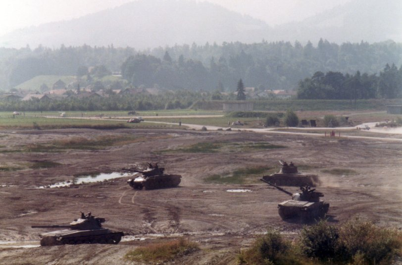 Tanks near Bern