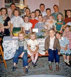 Kodachrome Crowd: 1952