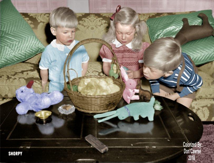 Peeps (Colorized): 1939
