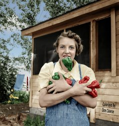 Pepper Challenge (Colorized): 1939